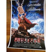 Charlton Heston-los Diez Mandamientos-poster