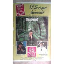 El Bosque Animado 0719 Landa Rey Afiche De 1.10 X 0.75