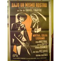Afiche Cine Argentino Bajo Un Mismo Rostro / Tinayre Legrand