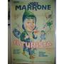 Afiche Cine Argentino El Turista / Jose Marrone