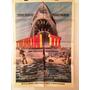 Antiguo Afiche De Cine Original - Tiburon 3