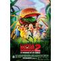 Poster Afiche Cine Animacion / Lluvia De Hamburguesas 2