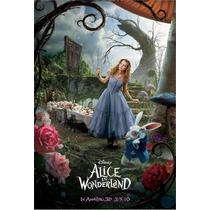 Poster Super A3 Alicia En El Pais De Las Maravillas 2