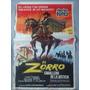 Afiche Cine El Zorro Caballero De La Justicia 1971