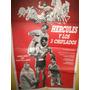 Poster Pelicula * Hercules Y Los 3 Chiflados * Año 1962
