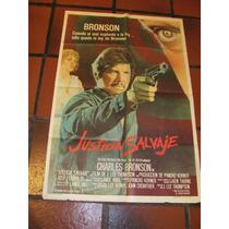 Afiches De Cine Antiguos Con Charles Bronson
