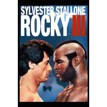 Carteles Antiguos Chapa Poster 60x40cm Rocky Balboa Fi-010