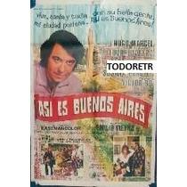 Afiche Asi Es Buenos Aires Con Hugo Marcel S. Silveyra 1971