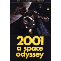 Cartel Antiguo Poster 60x40cm 2001 Odisea El Espacio Fi-090