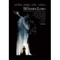 Poster Cine El Hombre Lobo
