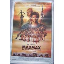 Poster Cine Mad Max Mas Alla De La Cupula Del Trueno 1985