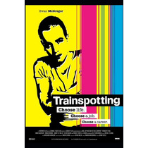 Carteles Antiguos Chapa Poster 60x40cm Trainspotting Fi-038