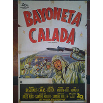 Bayoneta Calada 2775 Evans O Shea Afiche De 1.10 X 0.75