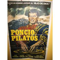 Poster Pelicula ** Poncio Pilatos ** Año 1962