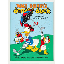 Donalds Golf Game Disney [1980] (70x50cms)