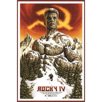 Carteles Antiguos Chapa Poster 60x40cm Rocky 4 Balboa Fi-015