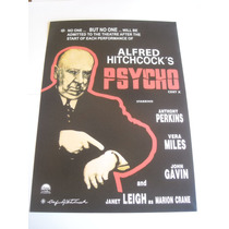 Imperdible Poster Original Pelicula Psycosis Hitchcocks