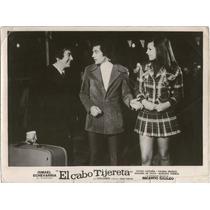 Foto Cine - El Cabo Tijereta - Cacho Castaña - Año 1973