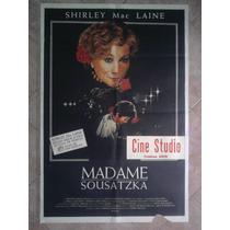 Madame Sousatzka 1784 S. Mac Laine Afiche De 1.10 X 0.75