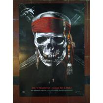 Piratas Del Caribe 2914 J. Deep Afiche De 1 X 0.70