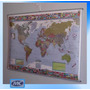 Planisferio Mural Político 130 X 95 Apto Para Escritura