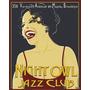 Night Owl Jazz Club - Lamina Importada De 40 X 50 Cm
