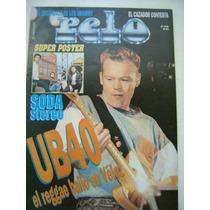 Revista Pelo Nº 339 Con Poster Desplegable De Soda Stereo