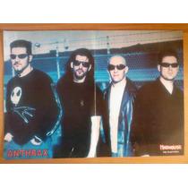 Poster De Anthrax