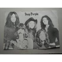 Imperdible Poster Musica Deep Purple
