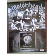 Poster Motorhead - The World Is Yours 60x40