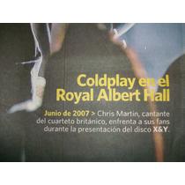- Poster - Recital De Coldplay - 2007 - Clarin -