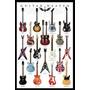 Guitarr Heaven - Poster Importado De 90 X 60 Cm