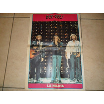 Poster The Bee Gees -año 1979- Suplemento La Hojita 55 X 36
