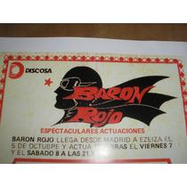 Baron Rojo...(poster Publicitario.re...obras 1983)