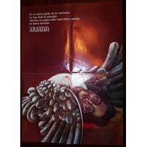 John Lennon Poster Revista Hurra 1980 Unico De Coleccion