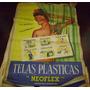 Antiguo Afiche Callejero Publicidad Telas Plasticas Neoflex