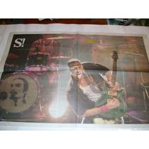 - Lote 2 Posters - Recitales Dante Spinetta - Si! - Clarin -