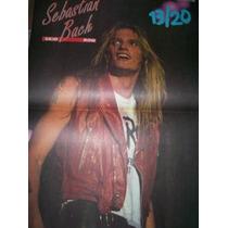 Poster Sebastian Bach/divididos/macaulay Culkin/chlumsk(035)