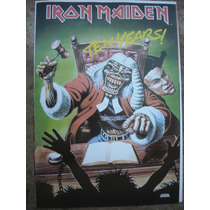 Imperdible Poster Original Musica Iron Ten Years