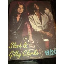 * Poster 13/20 38x28 Slash & Gilb Y Clarke