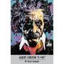 Poster De Albert Einstein, Segun David Garibaldi, 90 X 60 Cm