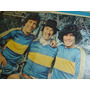 Poster Tv Guia Minguito Maradona Brindisi Retro Boca Rareza!