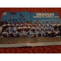Uruguay Campeon De America 1995 Poster Revista El Grafico