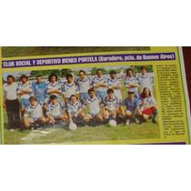Social Y Deportivo Ireneo Portela De Baradero (12 X25)