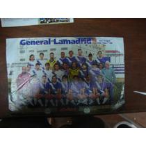 General Lamadrid- Poster -ganador 2°ascenso 1994-95