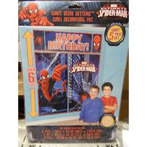Decoracion Cumpleaños - Banner Hombre Araña