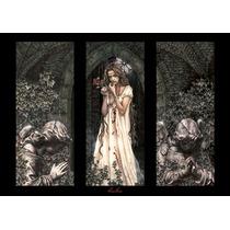 Poster De Fantasia - Victoria Frances - Triptico - 90 X 60