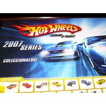 Posters Hot Wheels Año 2007 Catalogo Lamina !!!