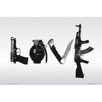 Poster De Steez - Love - 90 X 60 Cm