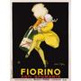 Publicidad De Fiorino Asti Spumante, 1922, Lamina De 40 X 30